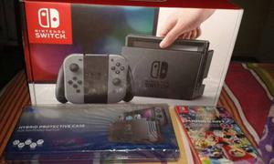 Nintendo Switch 32 Gb + Forro + Juego