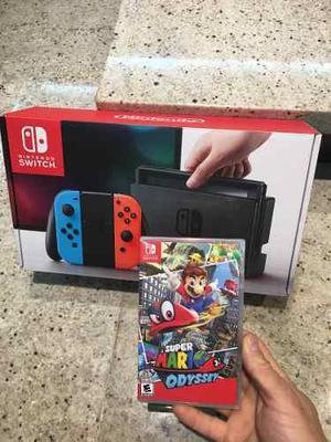 Nintendo Switch Nuevo Sellado Con Un Juego Sellado Leer Publ