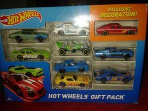 Set De 10 Carritos De Metal Hot Wheels