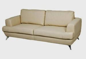 Sofa De 2 Puestos Capri Tela Bipien Camas Mesas Puff