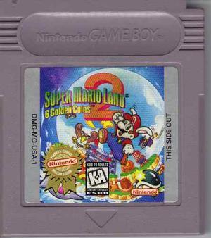Super Mario Land 2 6 Golden Coins Original