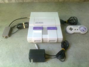 Super Nintendo Modelo Sns 001,optimas Condiciones Poco Uso
