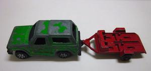 Tootsie Toy Chicago Ill.- Ford Bronco Con Remolque (usada)
