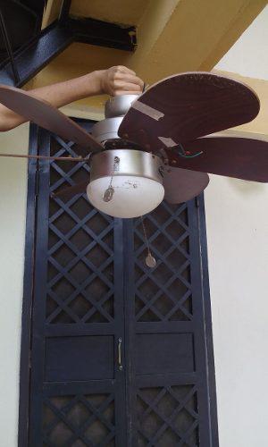 Ventilador Y Lampara De Techo