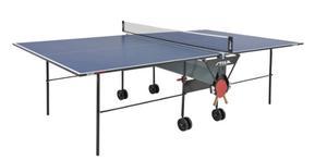 Mesa Ping Pong Stiga Modelo Basic Roller (nueva Con Forro)