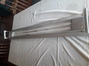 Lámpara Para Acuario Pecera De 1.5 Mts 2 Tubos 40 W