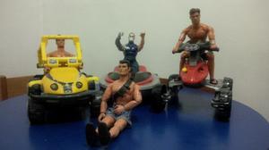 Muñecos Max Steel - Usados