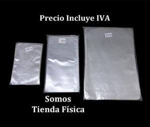 Bolsa Celofán Transparente 12 X 24 Cm Paquete 100 Bolsas