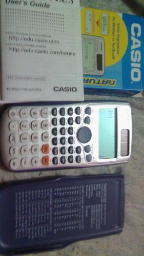 Calculadora Casio Fx995es Plus. Como Nueva. Caja Y Manuales