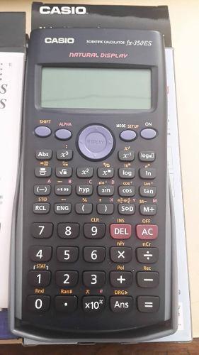 Calculadoras Científicas Casio Fx 82es Y Fx 350es Nuevas