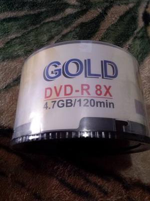 Cd Virgen Gold Torre De 50 Unidades 4.7 Gb De Capacidad