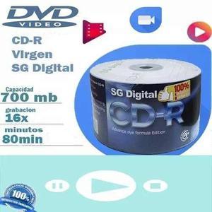 Cd-virgen Sg Digital 700mb 80min 52x Torres De 50 Y 100