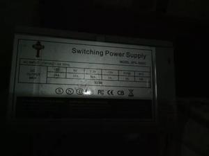 Fuente De Poder Para Pc Atx 500w 20+4 Pin 12v