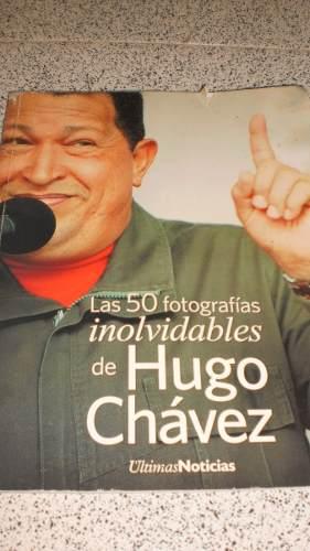 Libro Usado Las 50 Fotografias Inolvidables De Hugo Chavez