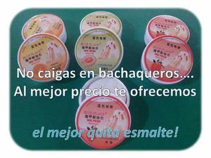 Removedor De Esmalte S/acetona Hidrata C/18u P/mayor