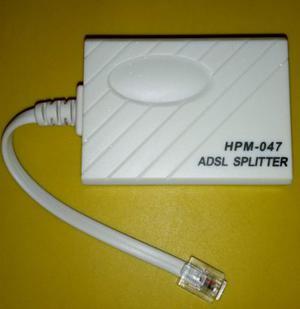 Splitter Adsl Micro Filtro.
