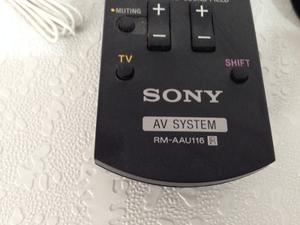 Kit Control Remoto Home Theater Sony Original + Antena
