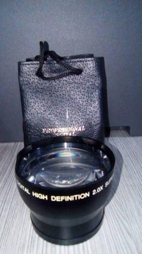 Lente Telefoto Pro 2x De Alta Definición De 58 Mm