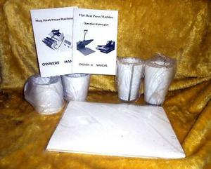 Maquina Para Sublimación De Tazas (Con 3 Moldes Diferentes)