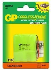 Pila Batería Gp Teléfono Inalambrico 3.6v 600mah Oferta