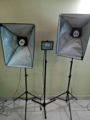 Set De Lamparas Para Fotografia Usado