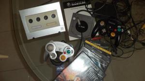 Nintendo Game Cube+ 2 Controles+ Memorycard+full Juegos