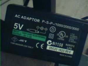 Vendo Cargador De Psp Ac Adaptador Psp