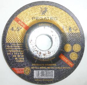 Disco Para Esmerilar Marca Pegatec De 4.5 Pulgadas