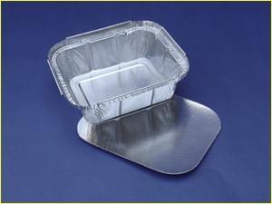 Envases De Aluminio 420 Con Tapa