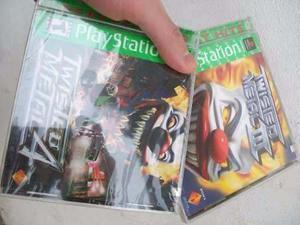 Juego Original Nuevo Sellado Twisted Metal 3/4 Playstation 1