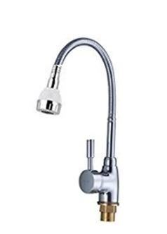 Llave Griferia Monomando De Fregadero Pico Flexible Agua F/c