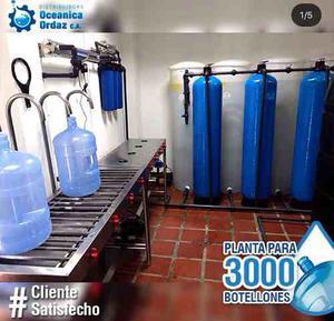 Plantas De Recarga De Agua Desde 150 A  Botellones
