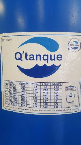 Tanque De Agua Para Apartamento 550 Litros