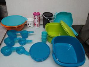 Tupperware, Envases, Modulares, Vasos, Ensaladeras,platos,
