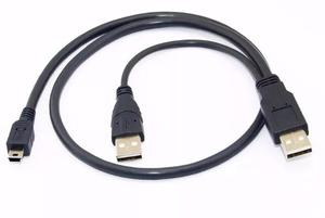 Cable 2 Usb A Mini Usb Goma Wii U Smart Tv Telefono Mp3 Mp4