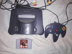 Consola Nintendo 64 Con Control Y Juego Mk