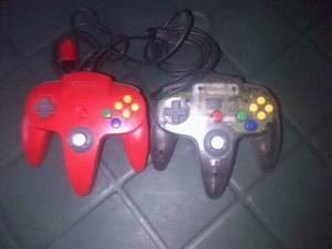 Controles Nintendo 64 Originales.