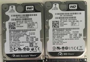 Disco Duro Wd Scorpio Black 320 Gb Para Laptop