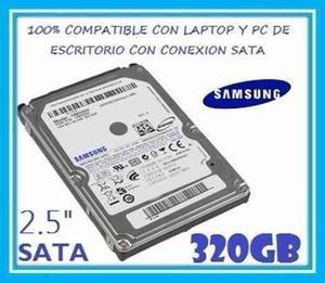 Discoduro Sansung 320 Gb Sata Para Laptop O Para Uso Portati