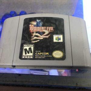 Juego 64 Resident Evil 2