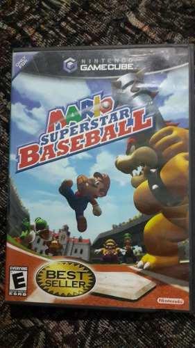Juego De Gamecube Mario Beisbol Original