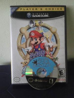 Juego De Gamecube Super Mario Sunshine Original