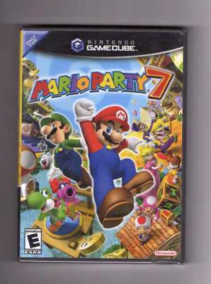 Juego Mario Party 7 Original Sellado Para Nintendo Gamecube