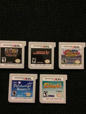 Juegos Nintendo 3ds, Cargador Y Bolso