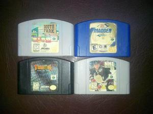 Juegos Nintendo 64 Turok 2 South Park Nhl