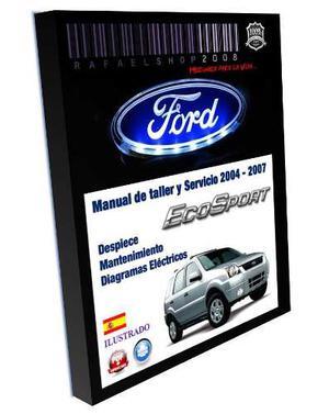 Manual De Taller Servicio Y Despiece Ford Ecosport