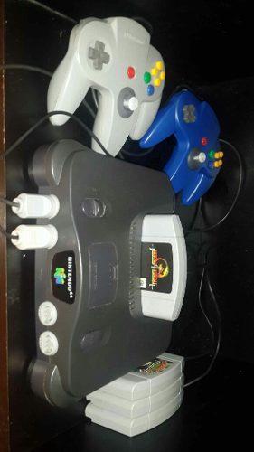 Nintendo 64 3 Juegos 1 Control