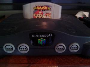 Nintendo 64 En Buen Estado 2 Control Y 4 Juegos