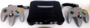Nintendo 64 Original + 2 Controles + 2 Juegos + Garantia