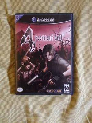 Resident Evil 4 Original Juego De Nintendo Gamecube